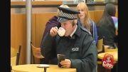 کلیپ بشدت خنده دار دوربین مخفی سرکار گذاشتن پلیس