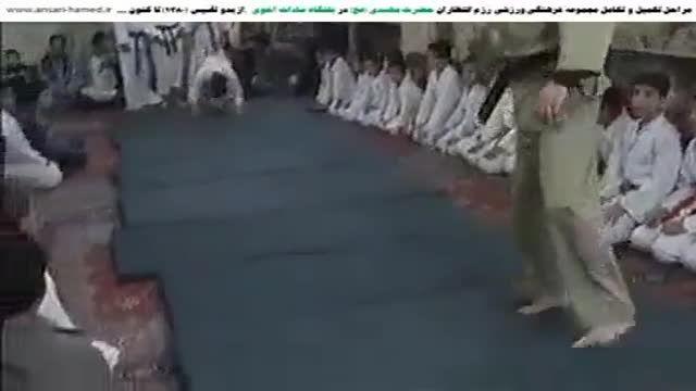 رزم اعضای باشگاه سادات اخوی در مسجد اخوان-بخش 2-1386
