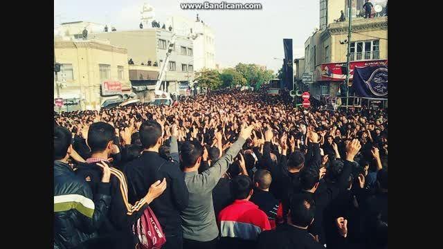 حسینیه اعظم زنجان -@ پایتخت شور .شعور حسینی @