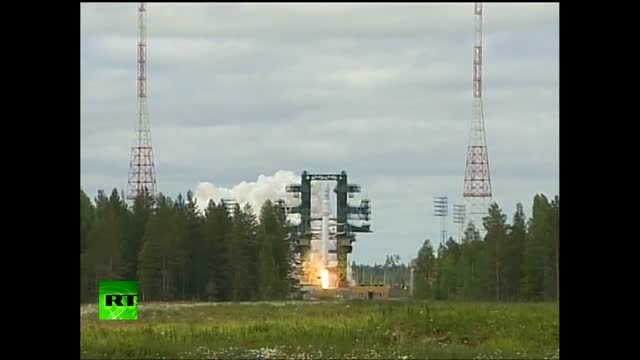 Russian Angara orbit  آزمایش راکت ماهواره بر آنگارا1
