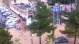 نجات نوجوان کرجی از سیلاب 27 فروردین ۹۱