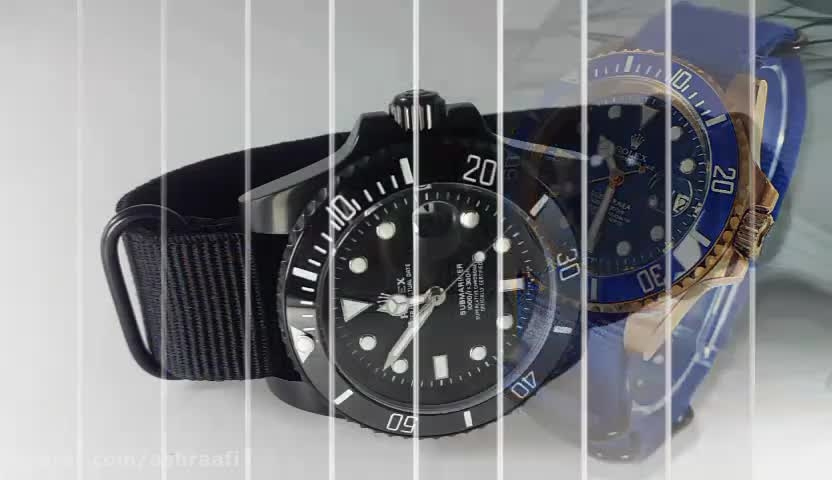 ساعت رولکس اویستر با بند برزنتی | Rolex Oyster-PD