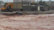 طغیان رودخانه شهر مورموری