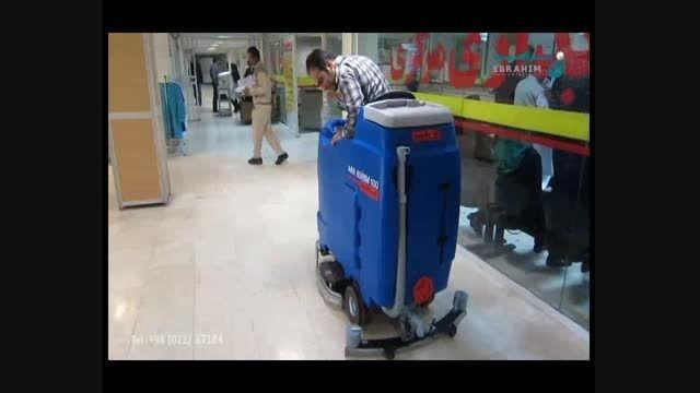 اسکرابر سرنشین دار-کف شوی باراننده- دستگاه کفشو