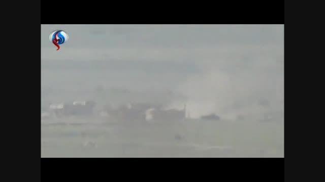 قنیطره - انهدام تانک های النصره توسط موشک حرارتی