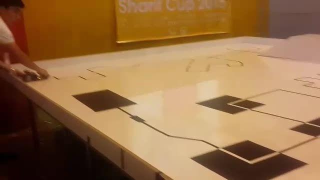 ربات مسیریاب شریف کاپ 2015