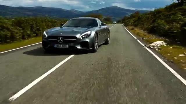 مرسدس AMG GT S - صدای انجین بهشتی