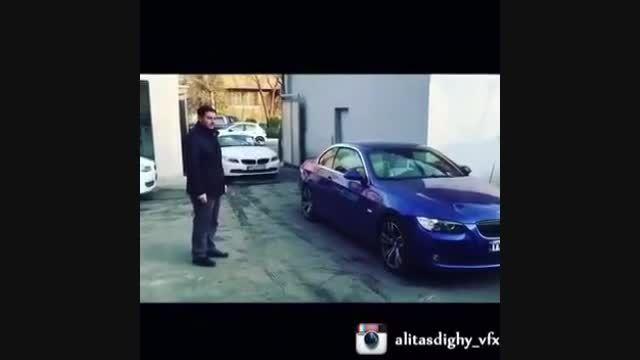 دو عددBWN در ایران با تغییر رنگ ماشین