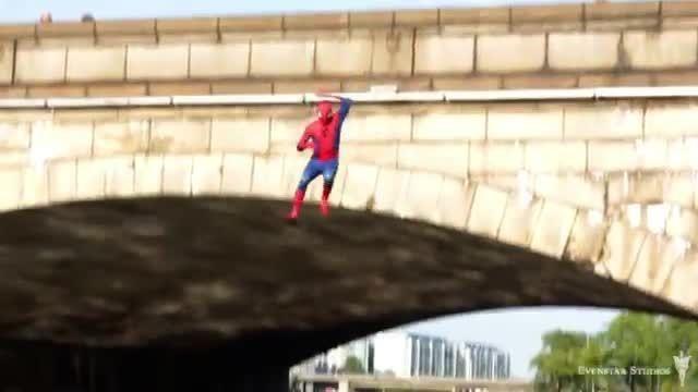 دوربین مخفی - Prank - مرد عنکبوتی در واقعیت ...