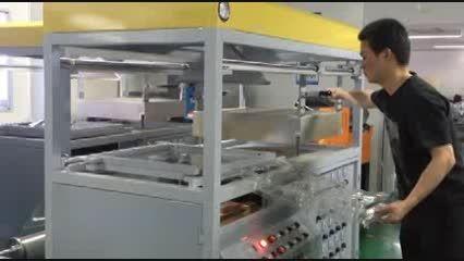 دستگاه وکیوم-وکیوم فرمینگ-ظرف یکبار مصرف