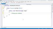0031 آموزش برنامه نویسی سی شارپ - بخش اول: مقدمات - قسمت سی و یکم: متد توسعه Extension Method
