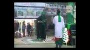 تعزیه شهادت امام حسین قسمت زره پوشی امام با اجرای محسن گیوه کش