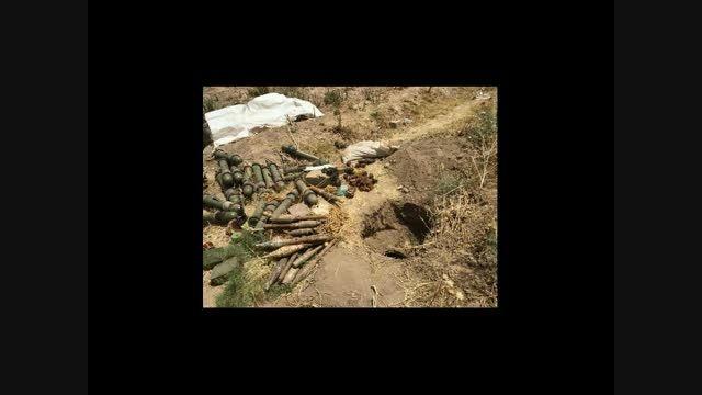 موشکهای آمریکایی در دست داعش