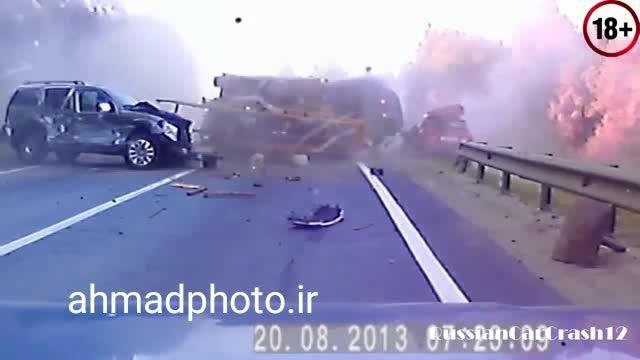 حوادث واقعی اتومبیل وحشتناک
