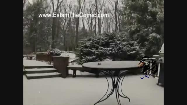 زیباترین ریزش برف