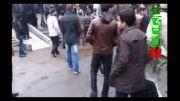 تجمع اعتراض آمیز دانشجویان دانشگاه پردیس درپی کشته شدن دانشج
