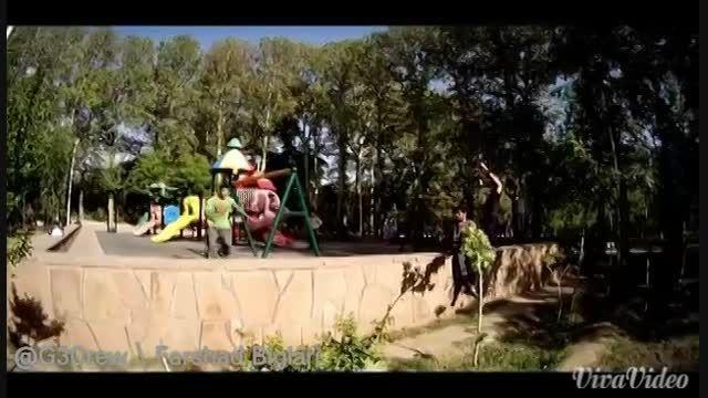 جدیدترین و قویترین ویدیوی پارکور فرشاد بیگلری، گروه جی3