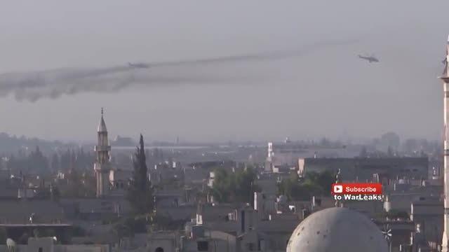 عملیات هلیکوپترهای Mi-24 Hind ارتش روسیه در حماه