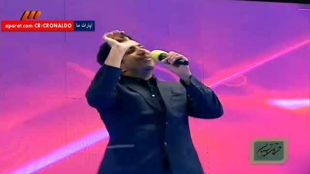 تقلدید جالب صدای عادل فردوسی پور و علی پروین