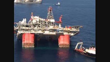 حادثه برای سکوی شناور نفتی
