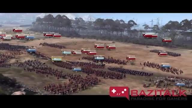 اولین تریلراز گیم پلی بازی Total War: Arena