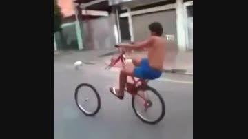تک چرخ بدون چرخ جلو.