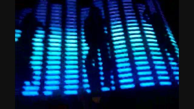 اکولایزر صوتی ماشین مدل رقص