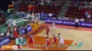 فینال بسکتبال: کره جنوبی ۷۹-۷۷ ایران