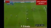 تمامی گل های کریس رونالدو در تیم ملی پرتغال