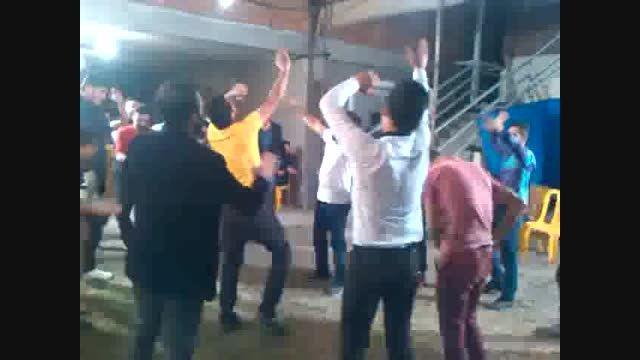 کلیپ شکارچی وحید حیدری در جشن علیرضا زاهدی