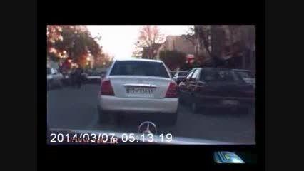 تعقیب و گریز خودرو دزدی در پایتخت