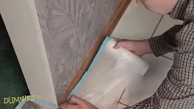 روش از بین بردن کاغذدیواری قدیمی را از روی دیوار