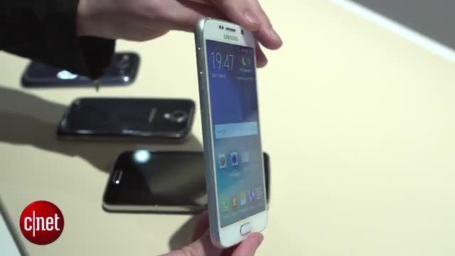مقایسه ی طراحی Galaxy S6 و S6 Edge با S5 ،S4 و S3