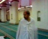 رضاخواه در لباس احرام مسجد شجره