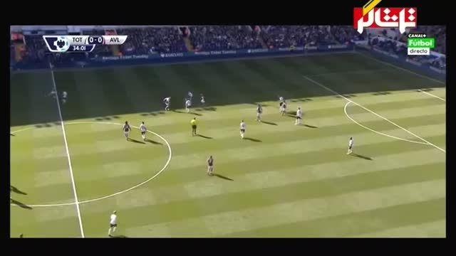 خلاصه بازی : تاتنهام 0 - 1 استون ویلا