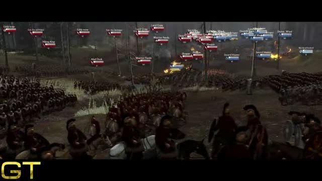 تریلر گیم پلی بازی Total War: Arena