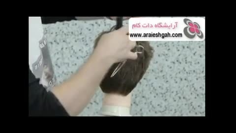 آموزش کوتاهی مو مردانه فشن مدل ۲۰۱۴ توسط مدرس آمریکایی