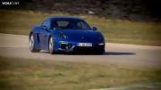 پورشه Cayman GTS جدید 2015 در پیست مسابقه