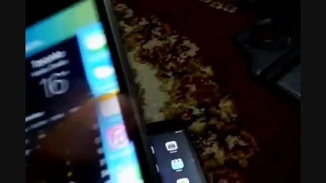 تست بودت iPhone 4S با ios 9 و  آیپد مینی با ios 8.4