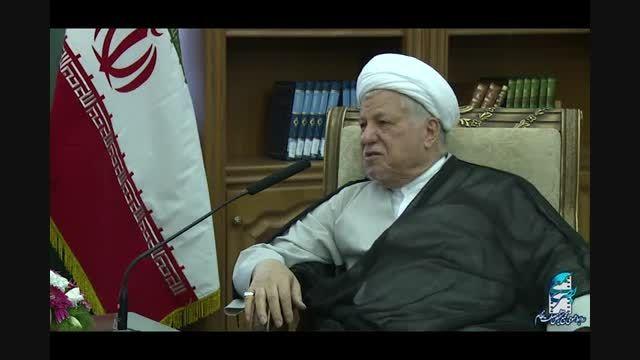 دیدار سفیر الجزایر در ایران با آیت الله هاشمی