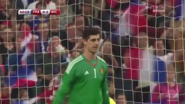بلژیک 3 - 1 فرانسه (گل متیو وابوئه نا) پنالتی