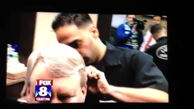آموزشگاه آرایشگری مردانه رویش هنر. رکورد سرعت اصلاح