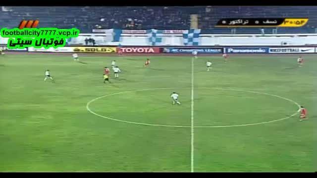 خلاصه بازی نسف قرشی 2 - 1 تراکتور (لیگ قهرمانان آسیا)