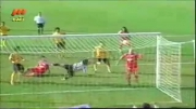 گل قهرمانی پرسپولیس به سپاهان در دقیقه 96
