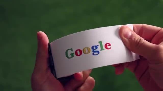 انیمیشن خیلی زیبا از شکل جدیدی گوگل