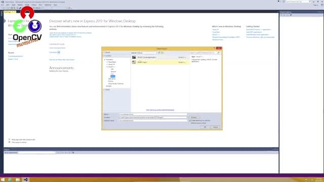 opencv 3.0.0 بر روی ویژوال استادیو 2013