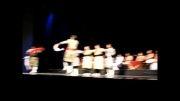 داوود رضایی کنسرت تالار وحدت  گروه رقص