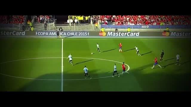 هایلایت کامل الکسیس سانچز مقابل آرژانتین (کوپا آمریکا)