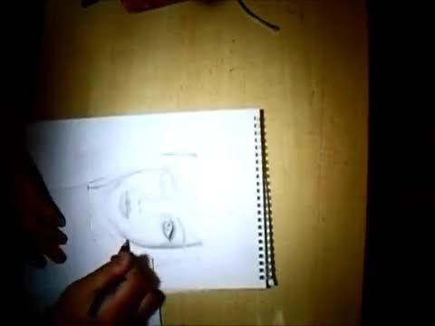 طراحی سیاه قلم از چهره کوتاکوتی