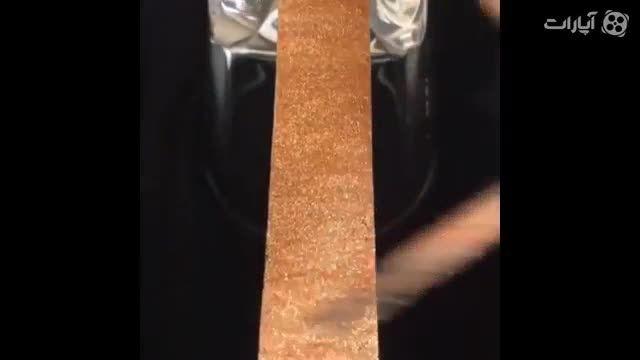 طراحی روی ناخن فقط با یک چسب!